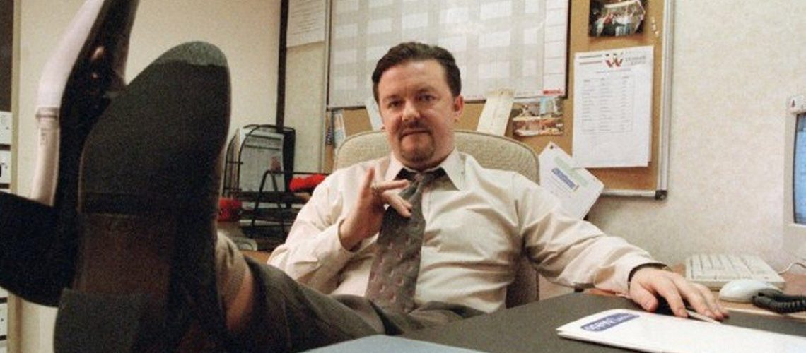 Ricky Gervais em The Office